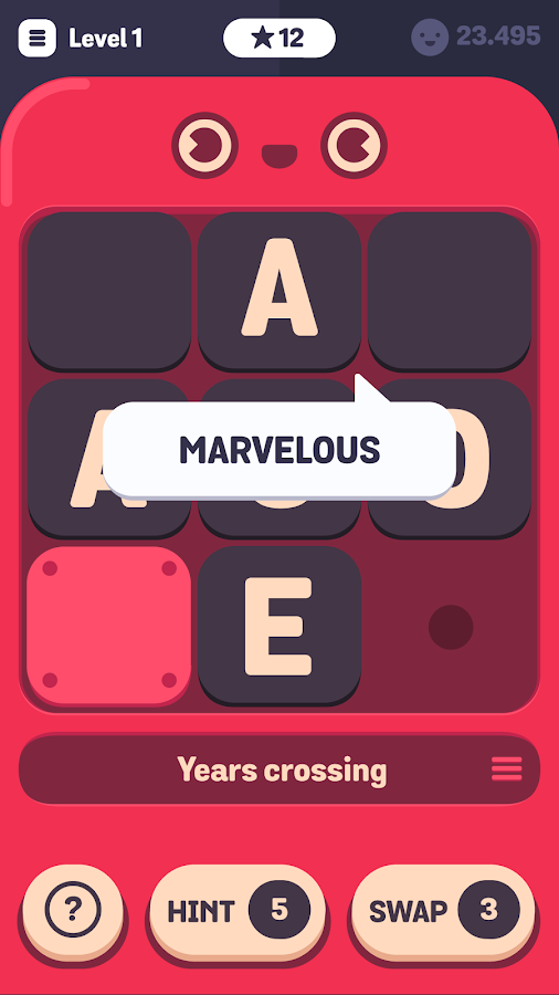 Sletters - Free Word Puzzle- screenshot