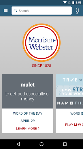 Screenshot for Dictionary - M-W Premium in Hong Kong Play Store