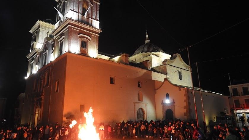 Foto de archivo de la Noche de las Lumbres.