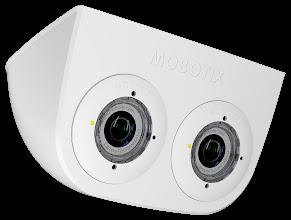 Photo: Mobotix S15 DualMount IP65 rated surface mount enclosure.