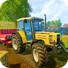 Tractor Trolley Real Farming Tractor 3D icon