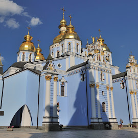 St. Michael's Golden - Domed Monastery by Tomasz Budziak - Buildings & Architecture Public & Historical ( ukraine, architecture )