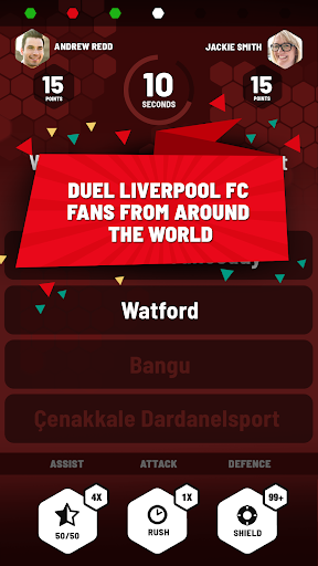 Liverpool FC Quiz Rivals: The Official LFC Game 1.6 screenshots 1