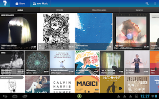 Screenshot of 7digital Music Store