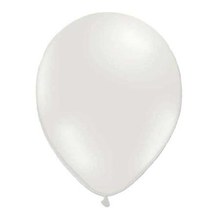 Ballonger - Metallic vit