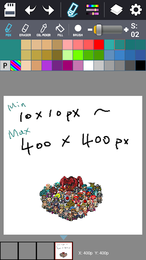 Dot Maker - Pixel Art Painter screenshot 11