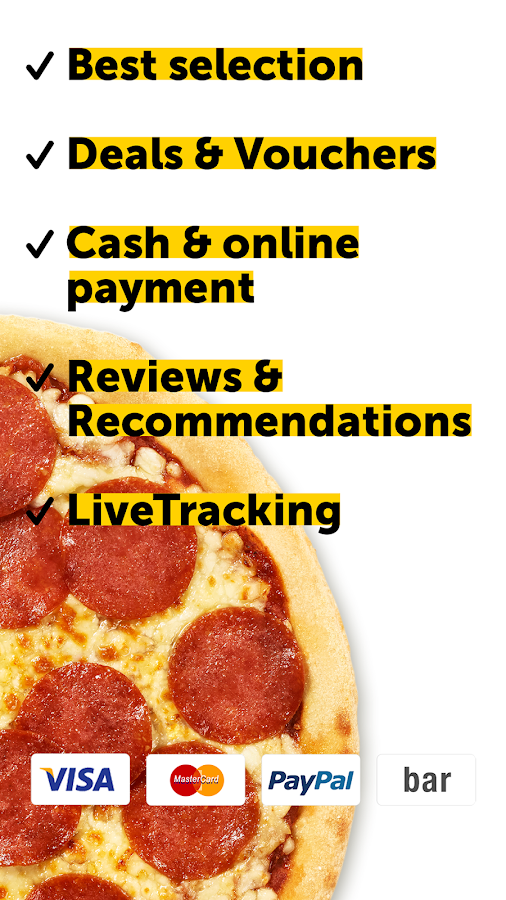 pizza.de - order food online- screenshot