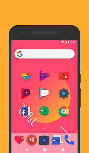 Frozy / Material Design Icon Pack Screenshot