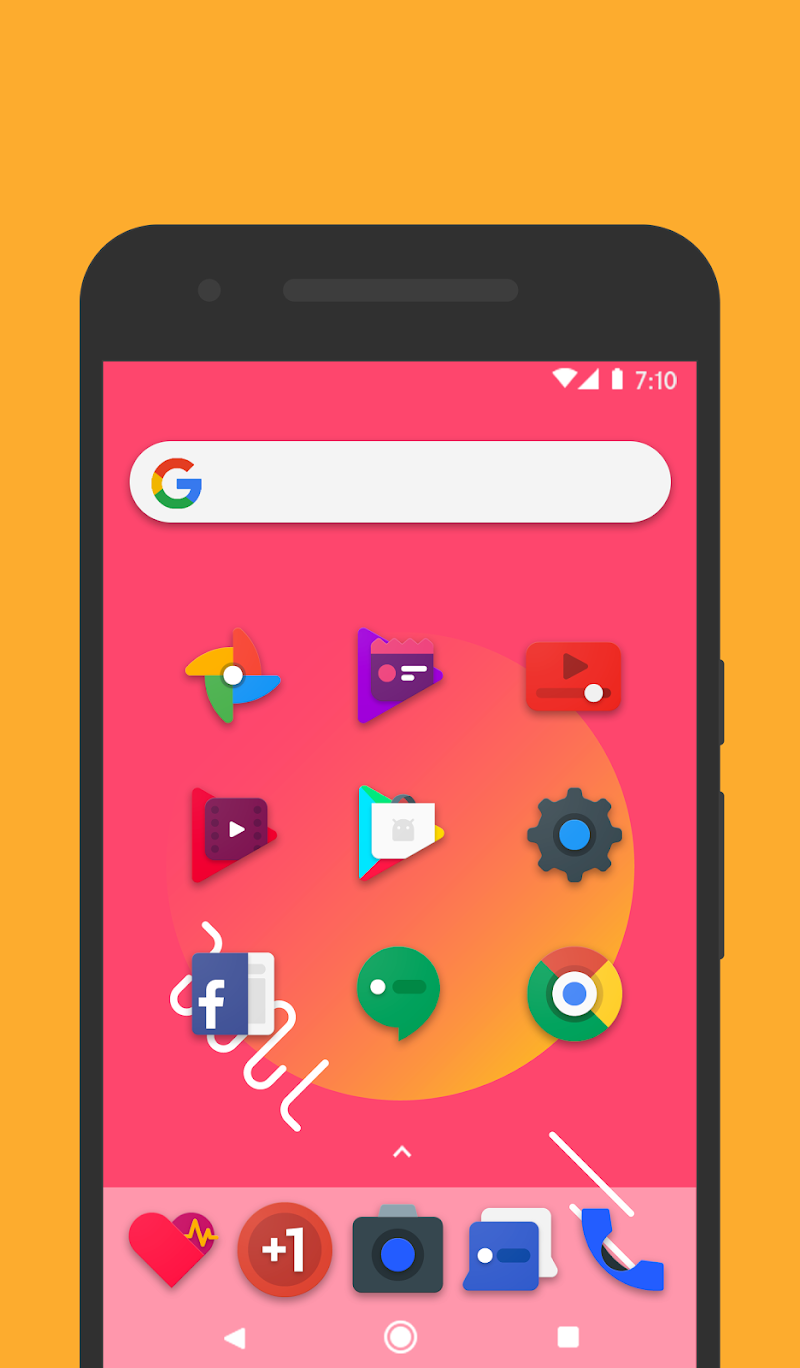 Frozy / Material Design Icon Pack Screenshot 10