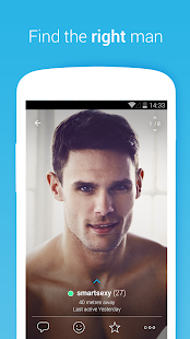 Gaydar- gay & bisexual dating: miniatura de captura de pantalla