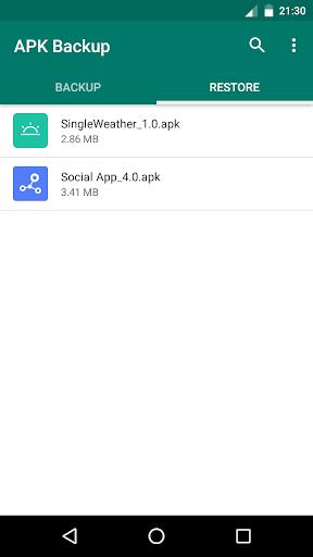 APK Backup screenshot 3