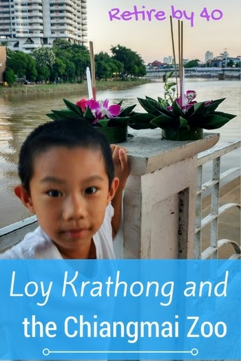 Loy Krathong and Chiangmai Zoo