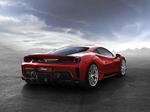 The rear aerodynamics have been influenced by the 488 race cars in the World Endurance Championship