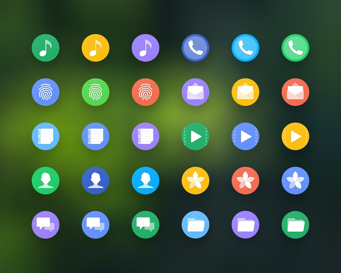 Grace UX Pixel - Icon Pack- screenshot
