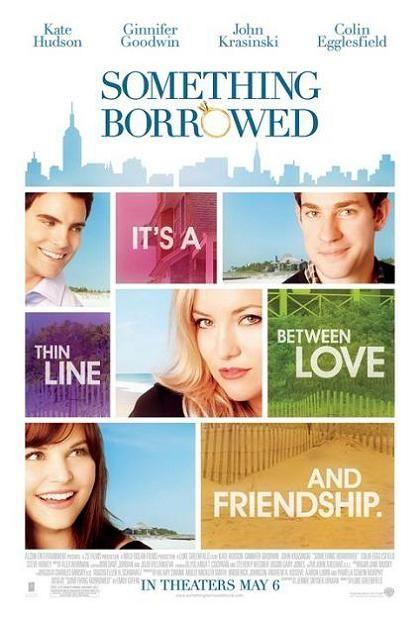 Something Borrowed, 2011, movie, poster