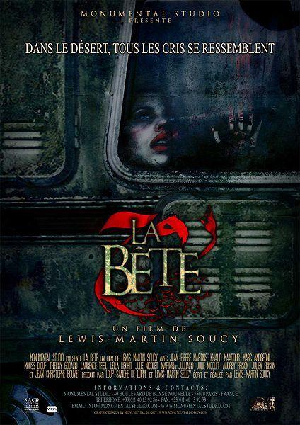 The Beast, La bête, movie, poster