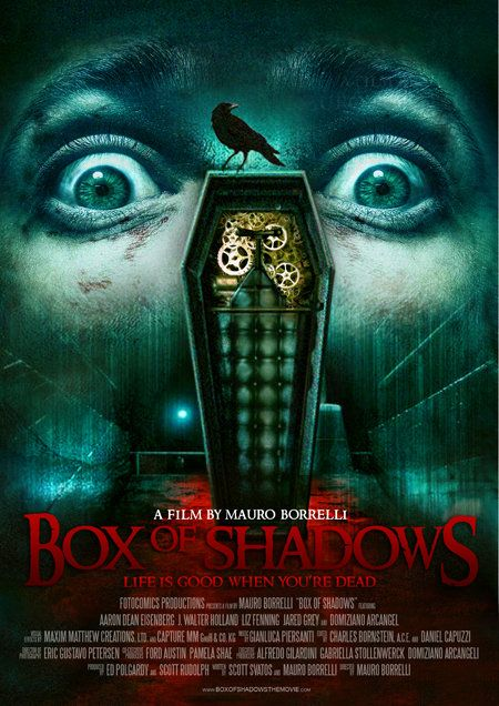 Box of Shadows, 2011, movie, poster