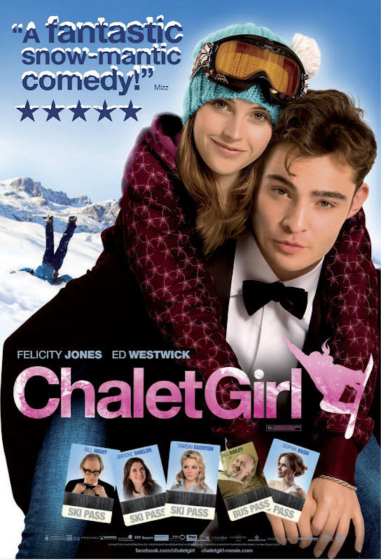 Chalet Girl, 2011, movie, poster