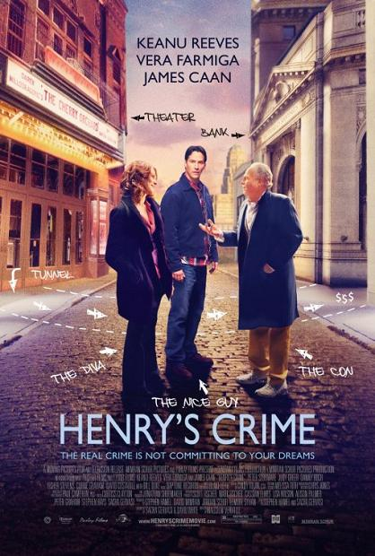 Henry's Crime, movie, poster