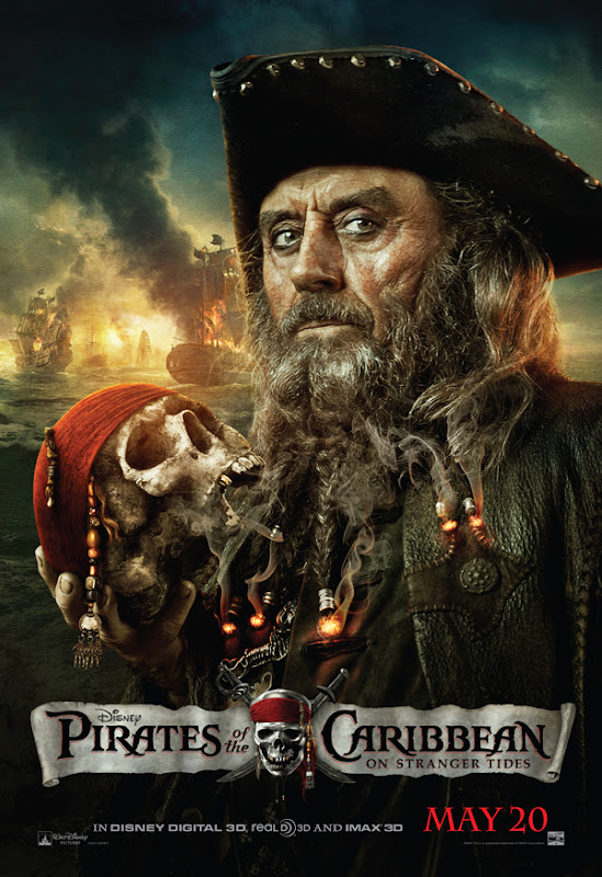 Blackbeard, Ian McShane, Image, Pirates of the Caribbean 4