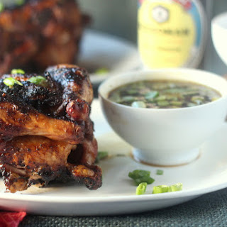 Five-Spice Rubbed Cornish Hens with Mongolian Barbecue Sauce
