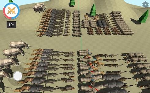 Animal Epic Battle Simulator MOD (Unlock All Levels) 5