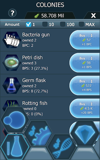 Bacterial Takeover - Idle Clicker 1.2.1 screenshots 9