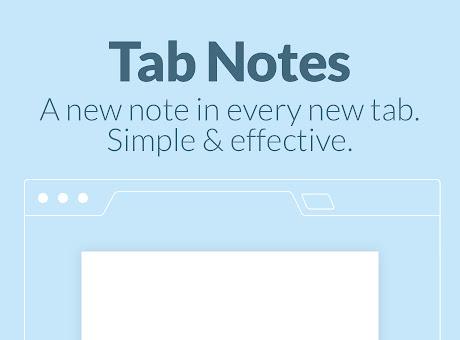 Tab Notes
