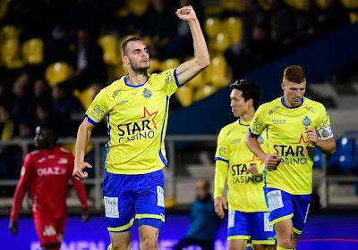 Aleksandar Vukotic scoorde tegen Racing Genk zijn tweede doelpunt van het seizoen