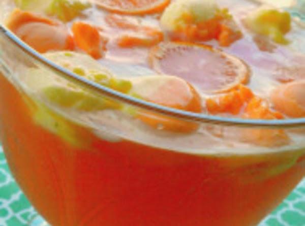 Orange Cream Punch Recipe