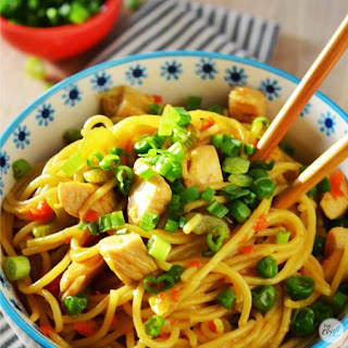Homemade Chicken Lo Mein
