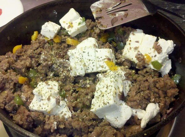 Stir in the cream cheese and cook over low heat until cheese melts and...