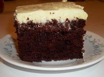 Wacky Chocolate Depression Cake