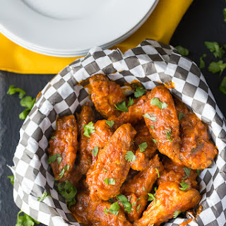 Spicy Butter Chicken Wings.
