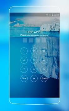 Cool Iceberg Frozen Live Wallpaper Poster