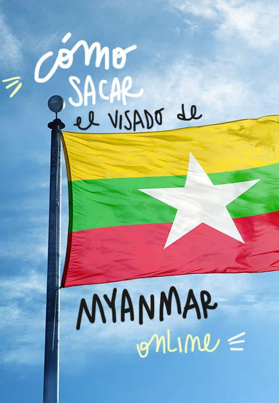 visado de myanmar online