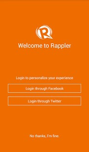 Rappler -  News, social media- screenshot thumbnail