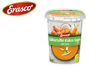 Angebot für Süßkartoffel-Kokos-Suppe im Supermarkt