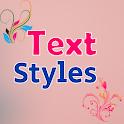 Text Styles Text Art icon