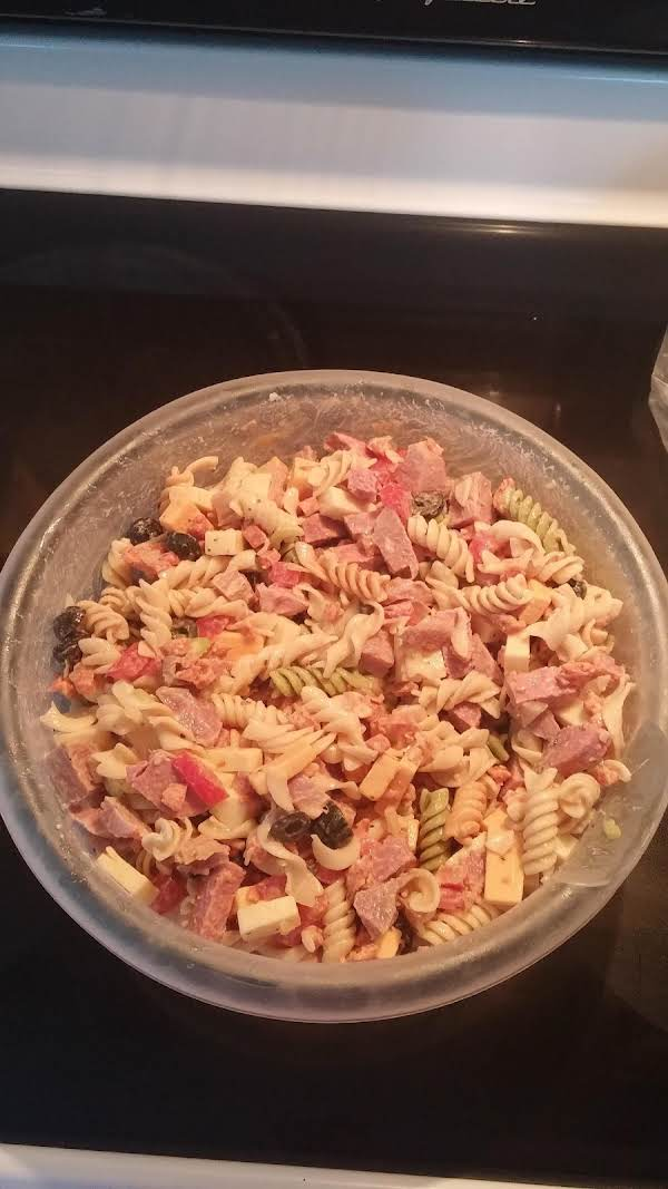 Hoagie Pasta Salad Recipe