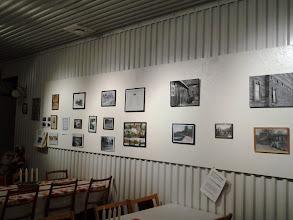 Photo: Utställning av gamla foto 1930-1990 på vår Julstuga 2013-12-15