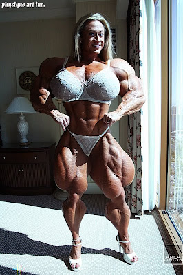Female Bodybuilder Heather Armbrust