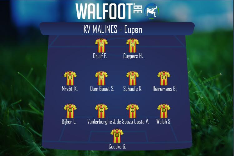 KV Malines (KV Malines - Eupen)