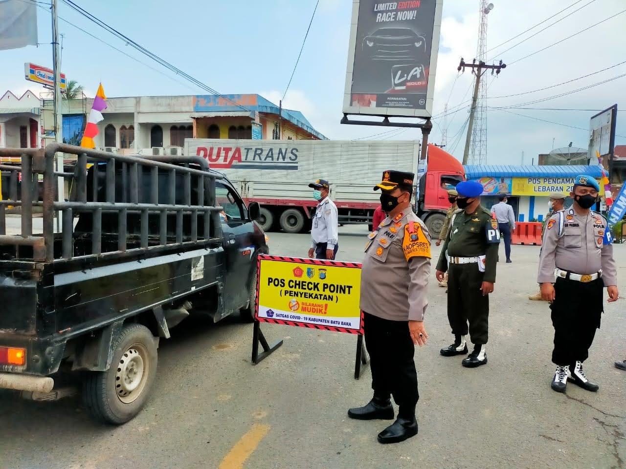 KRYD Polres Batu Bara Dalam Rangka Ops Ketupat Toba 2021