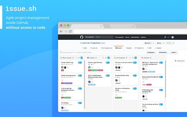 issue.sh for GitHub