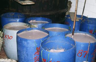 Photo: 04684 香港/小エビ塩辛ペースト工場