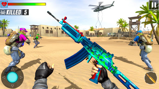 Fps Shooting Strike - Counter Terrorist Game 2019 screenshots 1