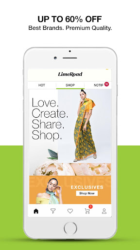LimeRoad Online Shopping App for Women, Men & Kids 6.1.3 screenshots 1