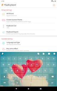 PlayKeyboard – Create a Theme, Emojis, Shortcuts Apk  Download For Android 10