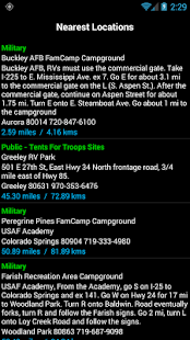 Military Campgrounds RV Parks- screenshot thumbnail